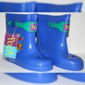 Disney Winnie the Pooh VTG Kids Rainboots